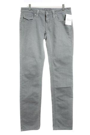 Calvin Klein Slim Jeans grau Casual-Look