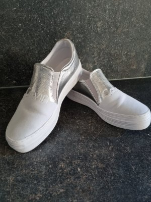 Calvin Klein Pantofola bianco-argento