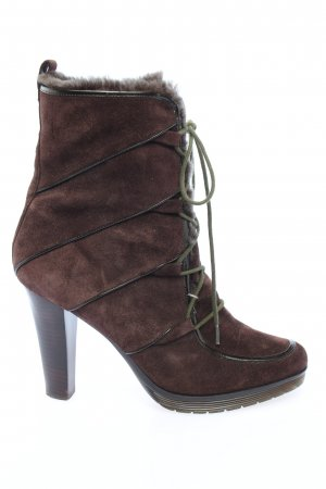 Calvin Klein Slouch Booties brown casual look