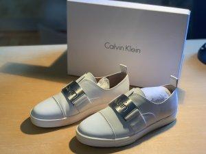 Calvin Klein Sneaker slip-on bianco