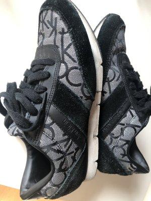Calvin Klein Sneaker stringata nero-argento