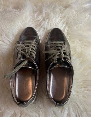 Calvin Klein High Top Sneaker silver-colored