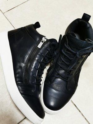 Calvin Klein Sneakers met veters donkerblauw