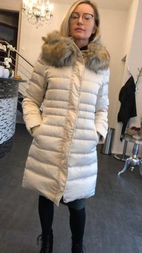 Calvin Klein Abrigo de plumón crema Poliuretano