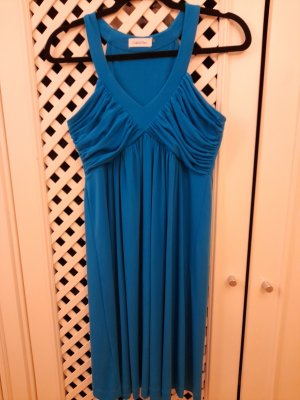 Calvin Klein Jersey Dress turquoise