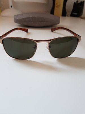 Calvin Klein Angular Shaped Sunglasses gold-colored