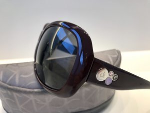 Calvin Klein Oval Sunglasses multicolored