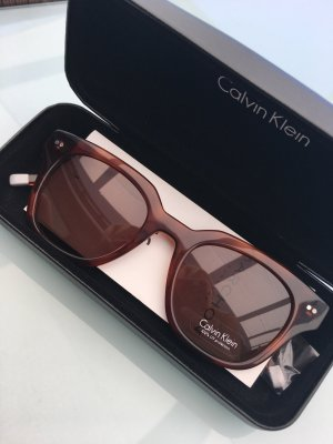 Calvin Klein Glasses cognac-coloured-brown