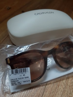 Calvin Klein Occhiale da sole cognac