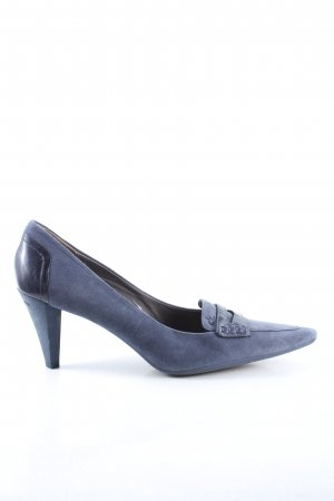 Calvin Klein Pointed Toe Pumps blue casual look