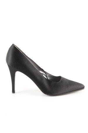 Calvin Klein Spitse pumps zwart zakelijke stijl