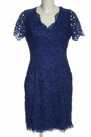 Calvin Klein Spitzenkleid blau Elegant