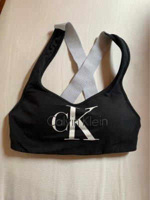 Calvin Klein Bra black-silver-colored
