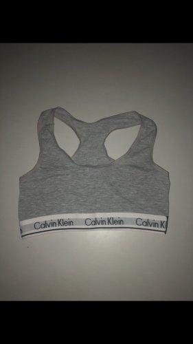Calvin Klein Top sportowy szary