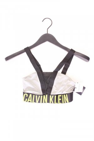Calvin Klein Sport BH Größe M neu mit Etikett grau aus Polyester