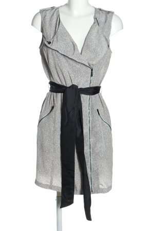 Calvin Klein Robe cargo gris clair-noir moucheté style décontracté