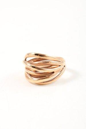Calvin Klein Statement ring goud zakelijke stijl