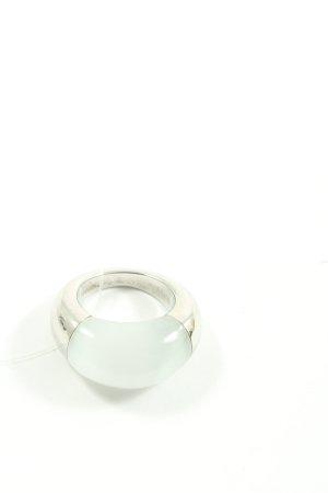 Calvin Klein Statement ring zilver wetlook