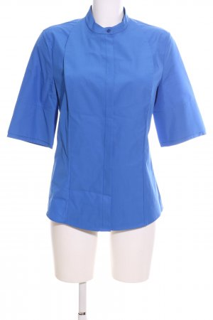 Calvin Klein Stehkragenbluse blau Casual-Look