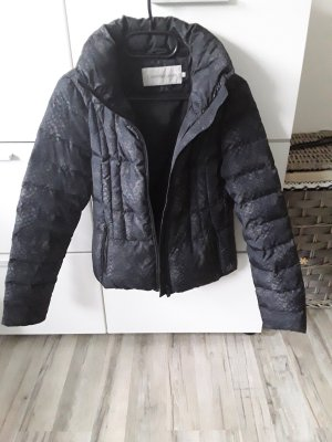 Quilted Jacket dark grey nylon