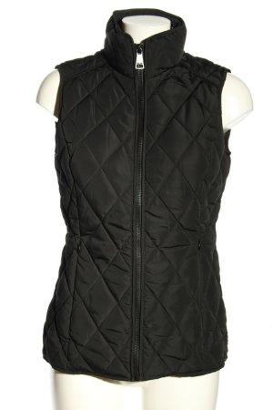 Calvin Klein Gewatteerd vest zwart quilten patroon casual uitstraling
