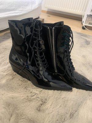 Calvin Klein Laarsjes met rits zwart