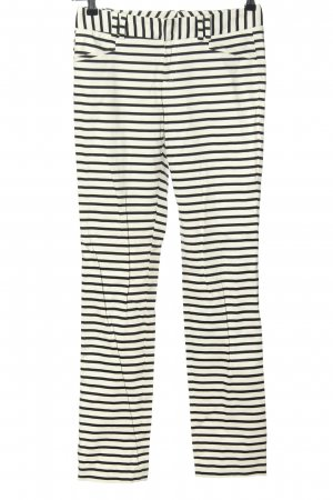 Calvin Klein Jersey Pants white-black striped pattern casual look