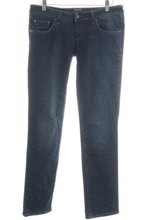 Calvin Klein Straight-Leg Jeans dunkelblau meliert Casual-Look