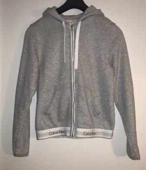 Calvin Klein Chaqueta con capucha gris claro