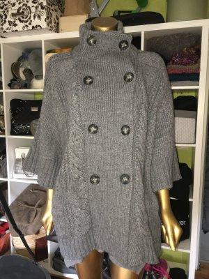 Calvin Klein Jeans Cardigan a maniche corte grigio Tessuto misto