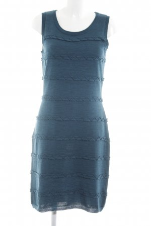 Calvin Klein Strickkleid blau Casual-Look