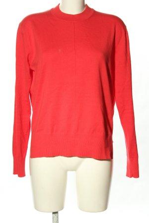 Calvin Klein Maglione lavorato a maglia rosso stile casual