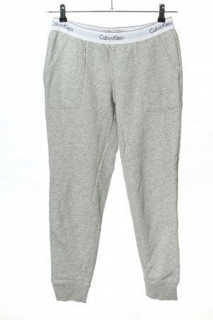 Calvin Klein Sweat Pants light grey flecked casual look