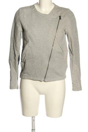 Calvin Klein Sweatjacke hellgrau Motivdruck Casual-Look