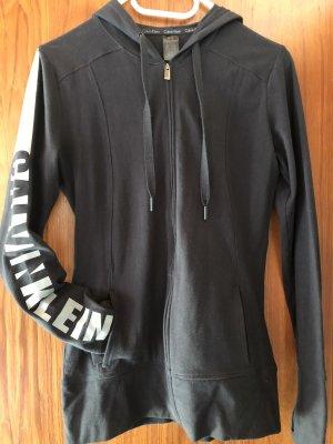 Calvin Klein Veste sweat noir-gris