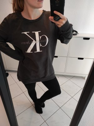 Calvin Klein Jeans Sweatshirt gris foncé