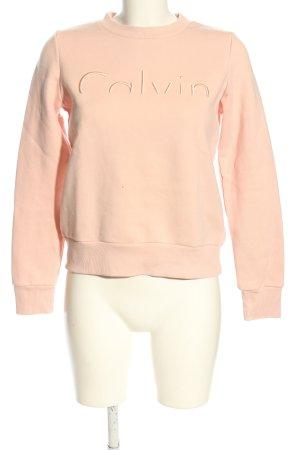 Calvin Klein Sweatshirt nude Casual-Look