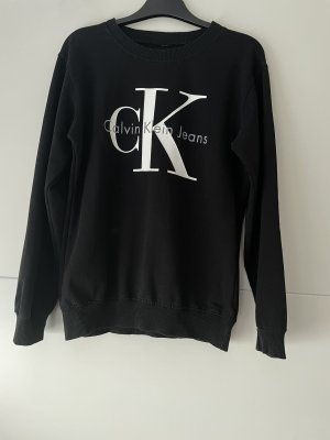 Calvin Klein Sweatshirt noir coton