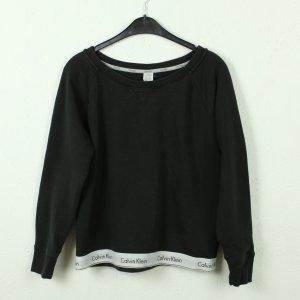 Calvin Klein Sweatshirt noir-blanc coton