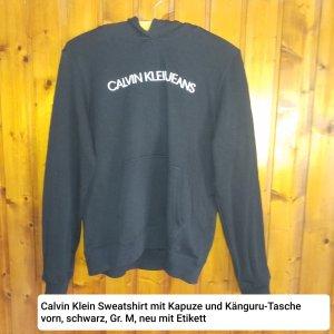 Calvin Klein Shirt met capuchon zwart