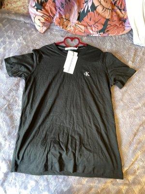 Calvin Klein Jeans Koszulka basic czarny