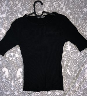Calvin Klein Koszula o skróconym kroju czarny-biały