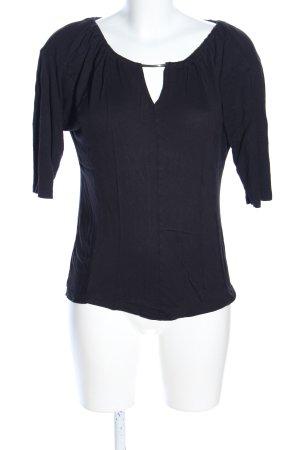 Calvin Klein T-Shirt schwarz Business-Look