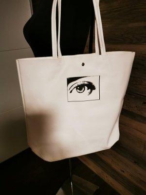 Calvin Klein Draagtas wit-zwart