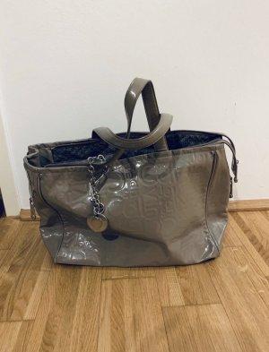 Calvin Klein Bolso marrón grisáceo