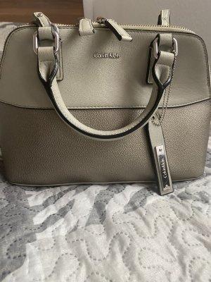 Calvin Klein Handbag silver-colored-grey