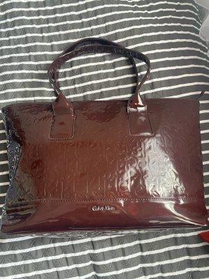 Calvin Klein Handbag brown red