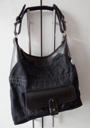 Calvin Klein - Tolle Tasche - Dark Denim & Kunstleder