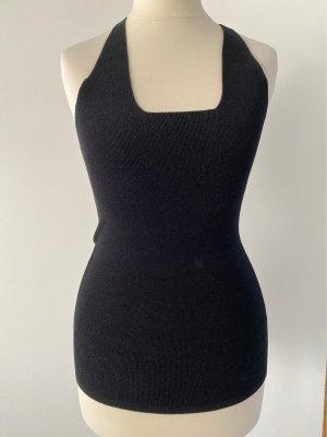 Calvin Klein Top z cienkimi ramiączkami czarny Wiskoza