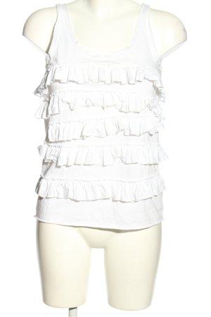 Calvin Klein Top met spaghettibandjes wit casual uitstraling